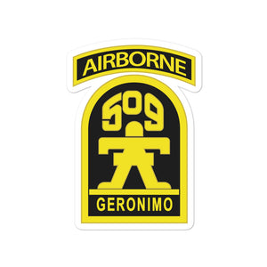 GERONIMO Bubble-free stickers