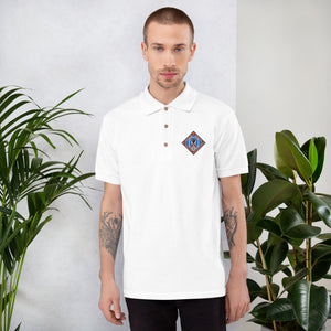 Warrior Brigade Embroidered Polo Shirt