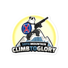 Load image into Gallery viewer, 10th Mountain Climb 2 Glory Bubble-free stickers