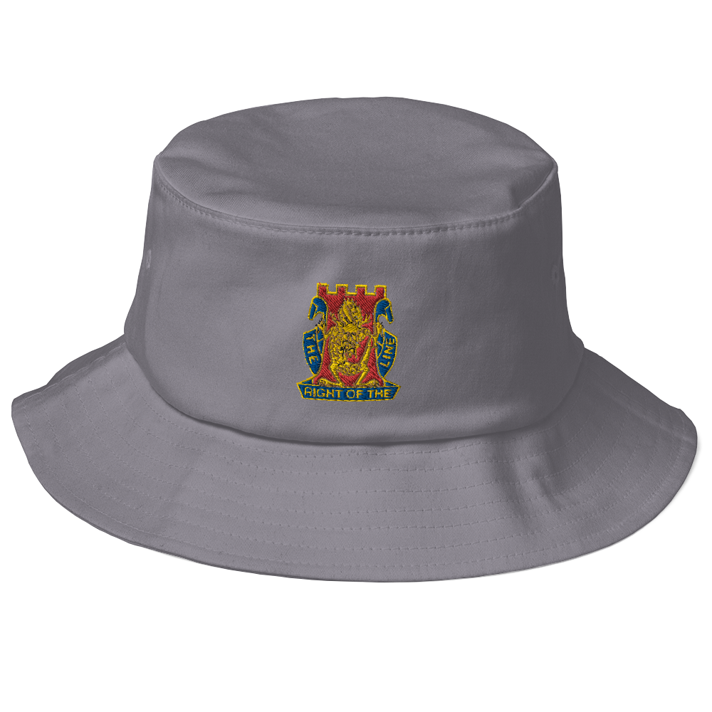 Golden Dragon Old School Bucket Hat