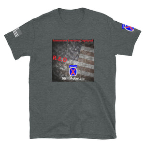 R.E.D 10th Mountain Tribute Tee