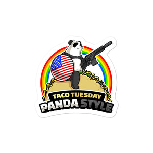 Taco Tuesday Bubble-free stickers