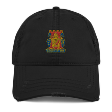 Load image into Gallery viewer, Golden Dragon Distressed Dad Hat