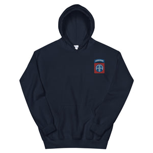 82nd Abn Embroidered Unisex Hoodie