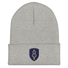 Load image into Gallery viewer, 8th Infantry Division Cuffed Beanie