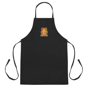 Golden Dragon Embroidered Apron