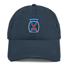 Load image into Gallery viewer, 10th Mountain Distressed Dad Hat