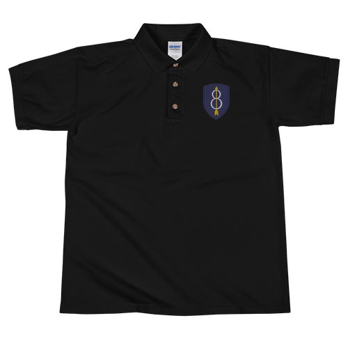 8th Infantry Division Embroidered Polo Shirt