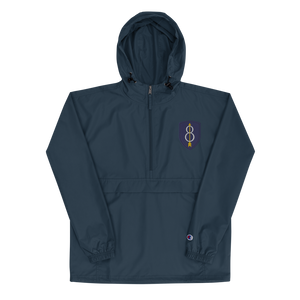 8th ID Embroidered Champion Packable Jacket