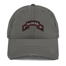 Load image into Gallery viewer, 2nd Ranger Bn Distressed Dad Hat
