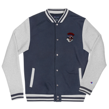 Load image into Gallery viewer, Spartan Panda Embroidered Champion Bomber Jacket
