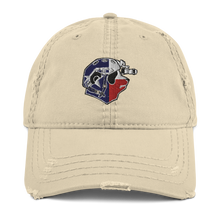Load image into Gallery viewer, Texan Panda Distressed Dad Hat