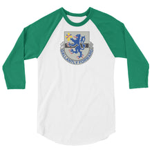 Load image into Gallery viewer, Gallantly Forward 3/4 sleeve raglan shirt