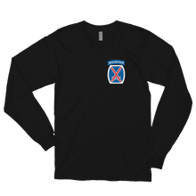 Load image into Gallery viewer, 10th Mountain Long sleeve t-shirt