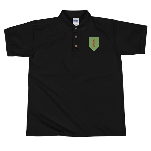 1st ID Embroidered Polo Shirt