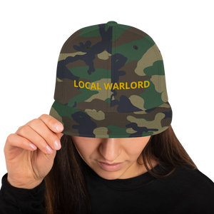 LOCAL WARLORD Snapback Hat