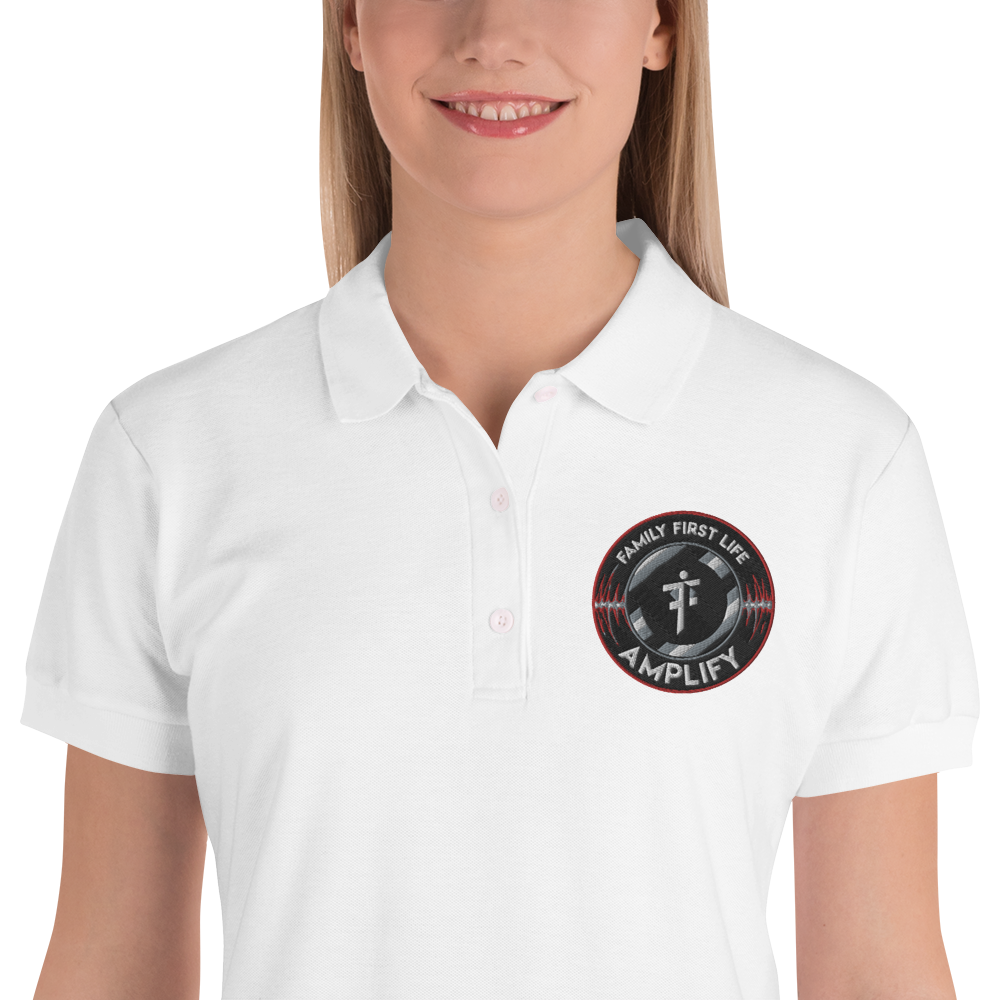 Womens' Embroidered Women's Polo Shirt