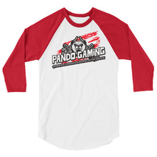 Load image into Gallery viewer, Pando Gaming 3/4 sleeve raglan shirt