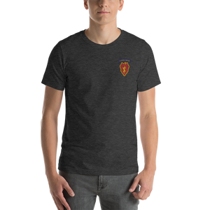 4/25th Abn Embroidered Short-Sleeve Unisex T-Shirt