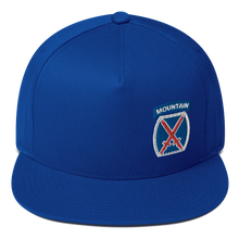Load image into Gallery viewer, 10th Mountain Flat Bill Cap