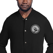 Load image into Gallery viewer, Pando Commando Limited Edition Embroidered Champion Bomber Jacket