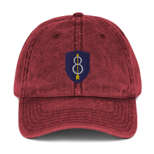Load image into Gallery viewer, 8th ID Vintage Cotton Twill Cap