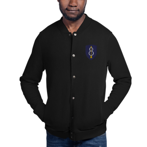 8th Infantry Division Embroidered Champion Bomber Jacket