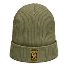 Load image into Gallery viewer, GERONIMO Organic ribbed beanie