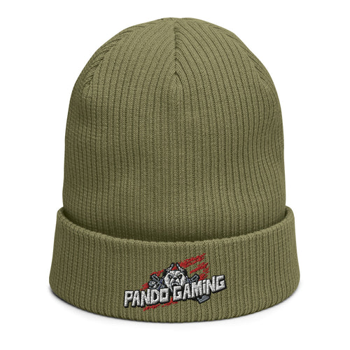 Pando Gaming Organic ribbed beanie