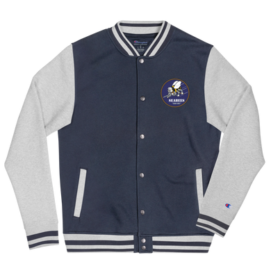 Seabees Embroidered Champion Bomber Jacket