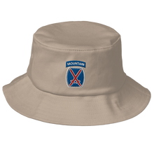 Load image into Gallery viewer, 10th Mountain Old School Bucket Hat