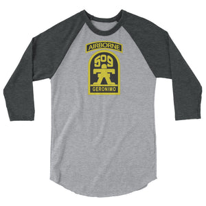 GERONIMO 3/4 sleeve raglan shirt