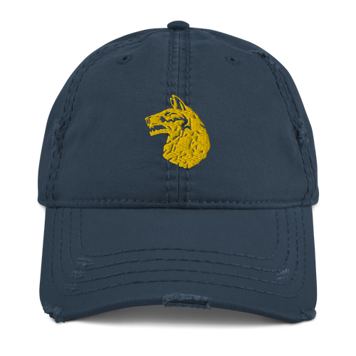 Wolfhounds Distressed Dad Hat