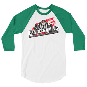 Pando Gaming 3/4 sleeve raglan shirt