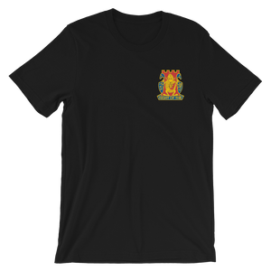 Golden Dragon Embroidery 100% Cotton Short-Sleeve Unisex T-Shirt