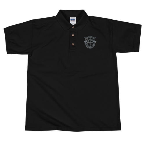 De Oppresso Liber Embroidered Polo Shirt