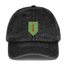 Load image into Gallery viewer, 1st ID Vintage Cotton Twill Cap