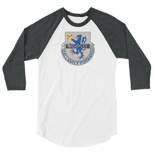 Gallantly Forward 3/4 sleeve raglan shirt