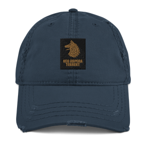 Wolfhound 2 Distressed Dad Hat