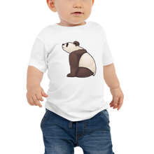 Load image into Gallery viewer, Baby Sitting Panda Short Sleeve Tee
