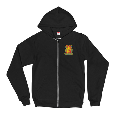 Golden Dragon Embroidered Hoodie sweater