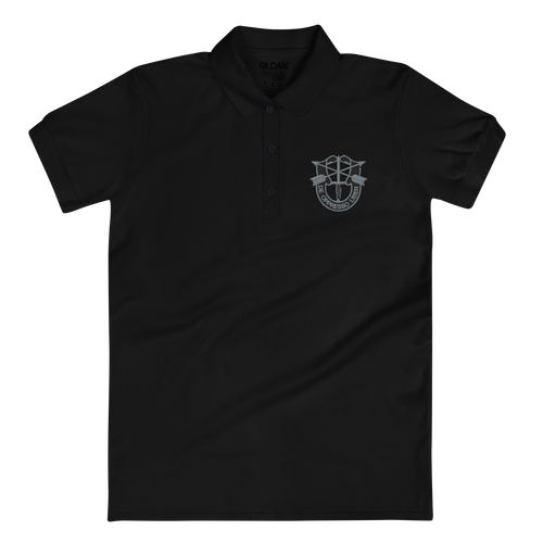 De Oppressor Liber Embroidered Women's Polo Shirt