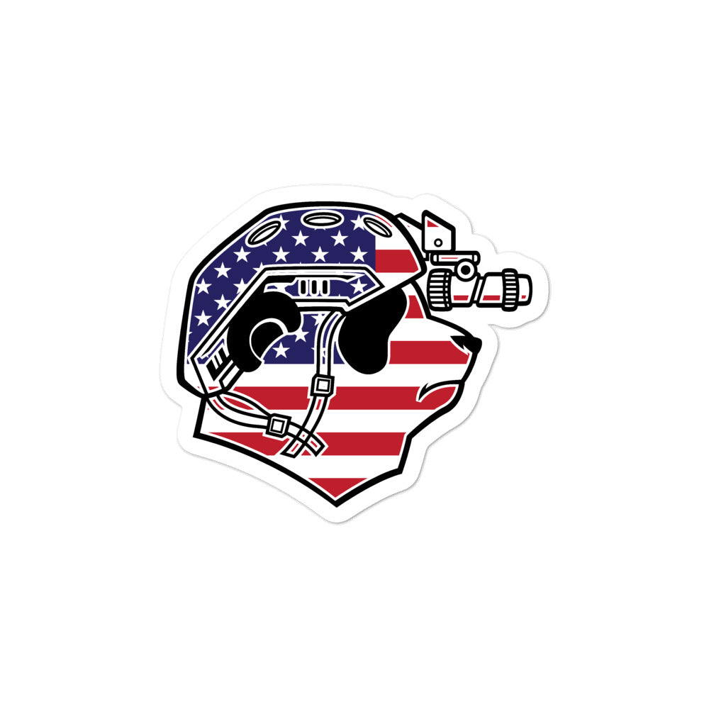 USA Pando Commando Bubble-free stickers