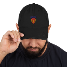 Load image into Gallery viewer, 4/25th Abn Distressed Dad Hat