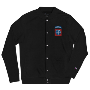 82nd Abn Embroidered Champion Bomber Jacket
