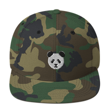 Load image into Gallery viewer, Panda Snapback Hat