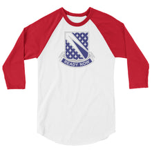 Load image into Gallery viewer, Ready Now (1-89 CAV) 3/4 sleeve raglan shirt