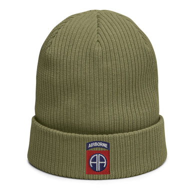 82nd Abn Organic ribbed beanie