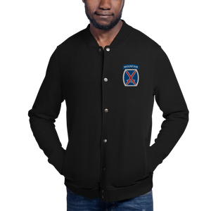 10th Mountain Embroidered Champion Bomber Jacket