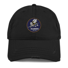 Load image into Gallery viewer, Seabees Distressed Dad Hat